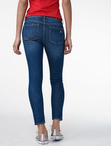 ARMANI EXCHANGE Destructed Crop Skinny Jean Jean D r