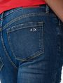 ARMANI EXCHANGE Destructed Crop Skinny Jean Jean Woman e