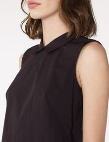 ARMANI EXCHANGE Sleeveless Poplin Blouse Shell Woman e