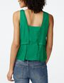 ARMANI EXCHANGE Tiered Button Top Shell D r