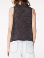 ARMANI EXCHANGE Asymmetric Rounded Hem Tank Shell D r