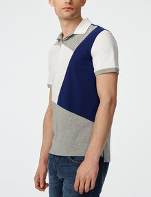 ARMANI EXCHANGE Diagonal Colorblock Polo Short-sleeved polo U d