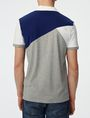 ARMANI EXCHANGE Diagonal Colorblock Polo Short-sleeved polo U r