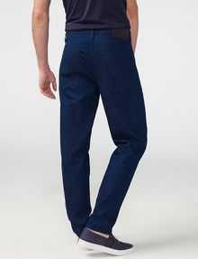 ARMANI EXCHANGE Scatterweave Drop-Fit Tapered Jean Jean Man r