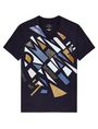 ARMANI EXCHANGE Broken Mirror Logo Tee Graphic T-shirt U d