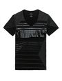 ARMANI EXCHANGE Tonal Stripe Tee Graphic Tee U d
