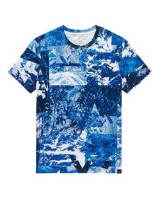 ARMANI EXCHANGE Oceanic Logo Tee Graphic Tee U d