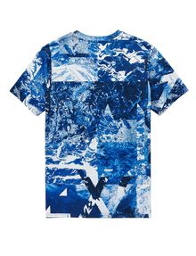 ARMANI EXCHANGE Oceanic Logo Tee Graphic Tee U e
