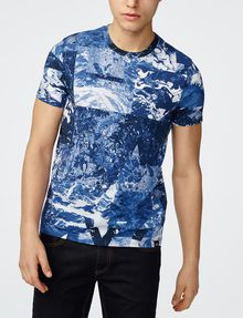 ARMANI EXCHANGE Oceanic Logo Tee Graphic Tee U f