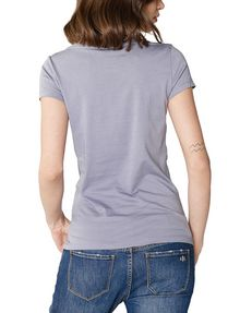 ARMANI EXCHANGE Stacked Logo Tee Short Sleeve Tee Woman r