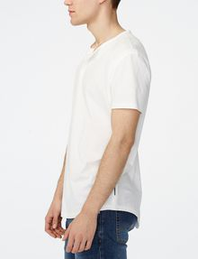 ARMANI EXCHANGE Short-Sleeve Seamed Arm Henley Short sleeve shirt [*** pickupInStoreShippingNotGuaranteed_info ***] d