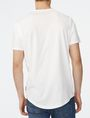 ARMANI EXCHANGE Short-Sleeve Seamed Arm Henley Short sleeve shirt [*** pickupInStoreShippingNotGuaranteed_info ***] r