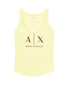 ARMANI EXCHANGE Classic A|X Racerback Tank top Woman d