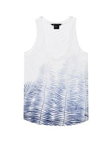 ARMANI EXCHANGE Ombre Fern Tank Graphic T-shirt D d
