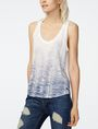 ARMANI EXCHANGE Ombre Fern Tank Graphic T-shirt D f