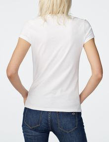 ARMANI EXCHANGE Sequin Wings Tee Short Sleeve Tee D r