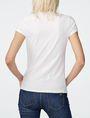ARMANI EXCHANGE Sequin Wings Tee Short Sleeve Tee Woman r