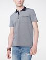 ARMANI EXCHANGE Bicolor Pique Pocket Polo Short-sleeved polo U f