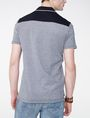 ARMANI EXCHANGE Bicolor Pique Pocket Polo Short-sleeved polo U r