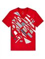 ARMANI EXCHANGE Broken Mirror Logo Tee Graphic Tee U d