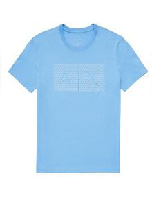 ARMANI EXCHANGE Triangulation Logo Tee Graphic T-shirt Man d