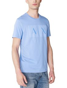 ARMANI EXCHANGE Triangulation Logo Tee Graphic T-shirt Man f