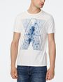ARMANI EXCHANGE A|X Inkblot Crew Graphic Tee U f