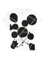 ARMANI EXCHANGE Inkblot Logo Tee Graphic T-shirt Man d