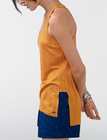 ARMANI EXCHANGE Side-Split Tank Tank top Woman d