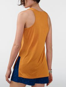 ARMANI EXCHANGE Side-Split Tank Tank top Woman r