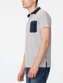 ARMANI EXCHANGE Graphic Block Polo Short-sleeved polo U d