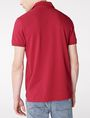 ARMANI EXCHANGE Contrast Placket Pique Polo SHORT SLEEVES POLO U r