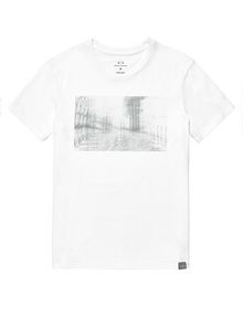ARMANI EXCHANGE Under Construction Graphic Tee Graphic T-shirt U d