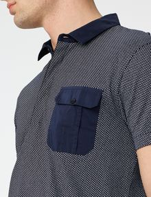 ARMANI EXCHANGE Graphic Block Polo Short-sleeved polo U e