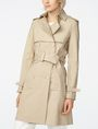 ARMANI EXCHANGE Lightweight Classic Trench Trench coat D f
