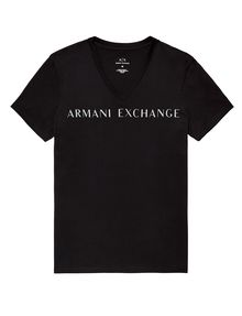 ARMANI EXCHANGE Wide Logo Tee Graphic Tee U d
