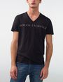 ARMANI EXCHANGE Wide Logo Tee Graphic T-shirt U f