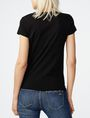 ARMANI EXCHANGE Etched Palms Tee Short Sleeve Tee D r
