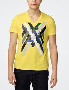ARMANI EXCHANGE Campfire Logo Tee Graphic T-shirt Man f