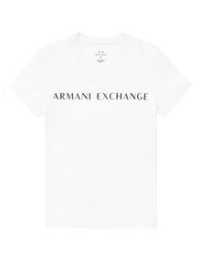 ARMANI EXCHANGE Wide Logo Tee Graphic T-shirt U d