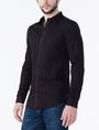 ARMANI EXCHANGE Textured No-Iron Slim-Fit Shirt Long sleeve shirt Man d