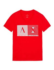 ARMANI EXCHANGE Shutter Shade Logo Tee Graphic Tee U d