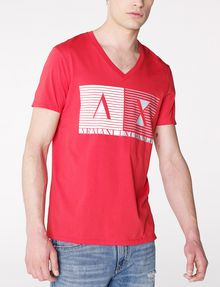 ARMANI EXCHANGE Shutter Shade Logo Tee Graphic Tee U f
