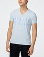 ARMANI EXCHANGE Trifecta Logo Tee Graphic T-shirt Man f