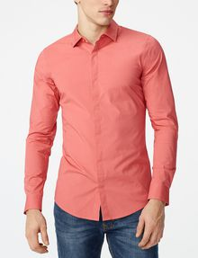 ARMANI EXCHANGE Super-Slim Fit Shirt Long sleeve shirt U f