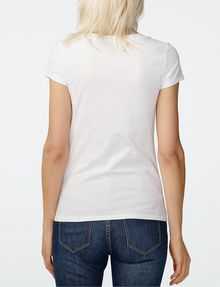 ARMANI EXCHANGE Mirrored Effect A|X Tee Short Sleeve Tee D r