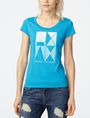 ARMANI EXCHANGE Mirrored Effect A|X Tee Graphic Tee D f