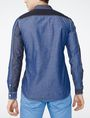 ARMANI EXCHANGE Pieced Utility Shirt Long sleeve shirt Man r