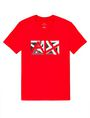 ARMANI EXCHANGE Cut & Color Logo Tee Graphic T-shirt U d
