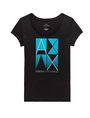 ARMANI EXCHANGE Mirrored Effect A|X Tee Short Sleeve Tee D d